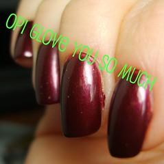 OPI Glove You So Much (ballekarina) Tags: nailpolish opi gloveyousomuch