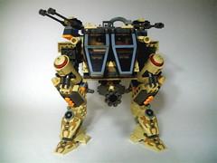Desert Walker (zane_houston) Tags: lego walker mechwarrior mecha mech