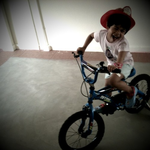 bomba on bike