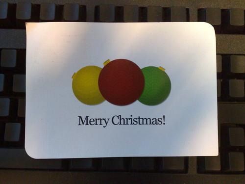 X-mas card from Ivy @ Nanyate.com