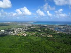 Kailua, Oahu, Hawaii (Hawaiian beach) Tags: ocean mountain green water hawaii bay town oahu kailua kaneohemcb