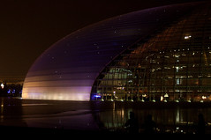 The Big Egg-National Grand Theater (style80) Tags: theater 3570mm d90 3570mmf3345 国家大剧院