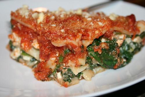 okara lasagna