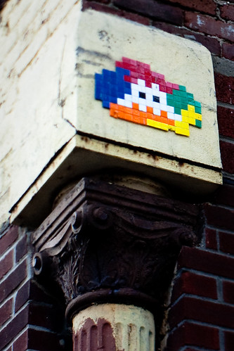 NYC:Meatpacking: Invader