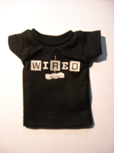 wired min t-shirt