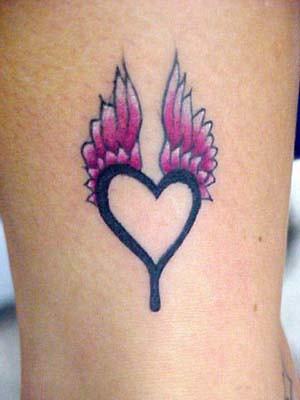 fotos de tatuagens: coração
