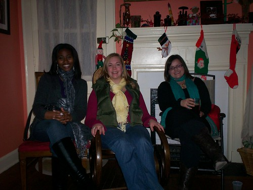 "social work friends by the ""fire"""