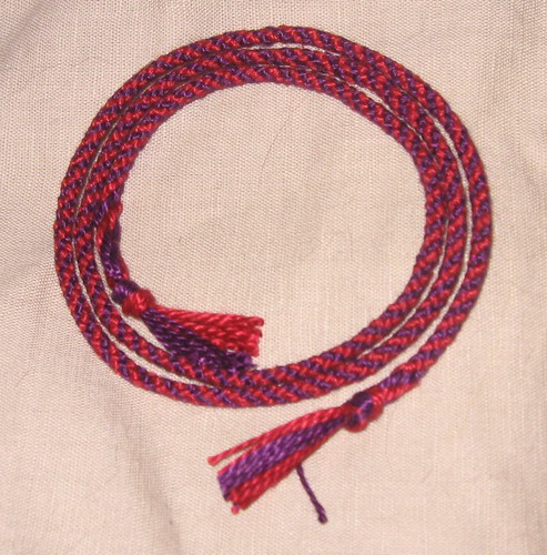 first kumihimo braid