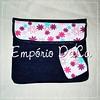 Capa de Notebook Magenta (emporiodaca) Tags: notebook handmade artesanato notebookbag capadenotebook empóriodaca