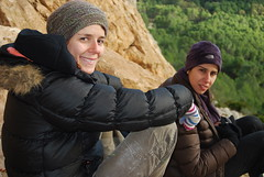 Mafas e Joana (hugopeniche) Tags: elchorro joana mafas