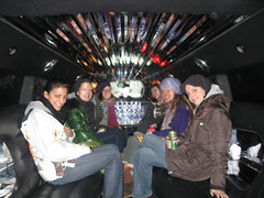 Dec 31 2009 VIP  Hummer  Tour Rahiem What What (Hush NYC Hip Hop Tours) Tags: limo stretch hummer tours
