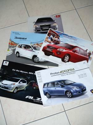 MPV brochures