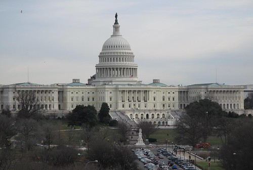 US Capitol from Newseum balcony