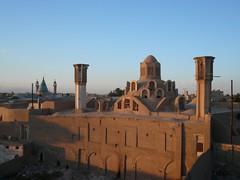 Kashan, au coucher du soleil (Francoisasia) Tags: iran kashan