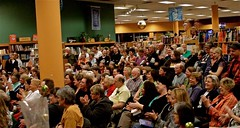 Changing Hand Bookstore crowd