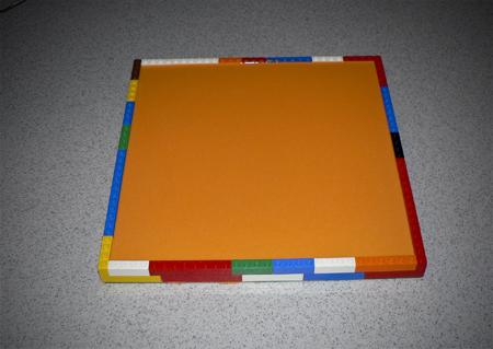 Lego food grade silicone mold setting