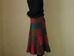 Noro Skirt Finished! -5