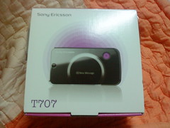Sony Ericsson T707 package box 1