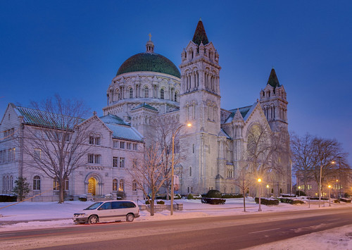Cathedral Basilica of Saint Louis, in Saint Louis, Missouri, USA - exterior
