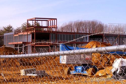 Framed Building, Burtonsville Town Square