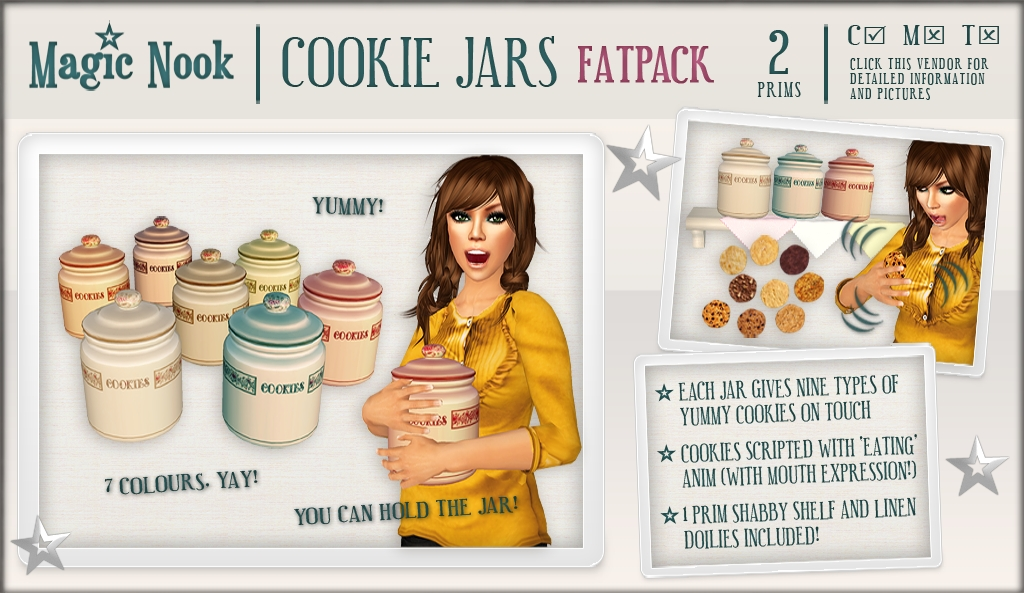 [MAGIC NOOK] Cookie Jars