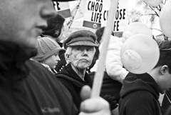 22/365: Choose Life (Amber Wilkie | www.amberwilkie.com) Tags: street grandma bw sign delete10 lady march dc washington babies anniversary rally balloon protest abortion gathering nationalmall scowl dcist fetus wade 365 37 roe civilrights prolife freespeech protect supremecourt 2010 houndstooth organize roevwade antiabortion marchforlife firstamendment project365 wechooselife deletedbydeletemeuncensored marchforlifeeducationanddefensefund save8oops eestreet