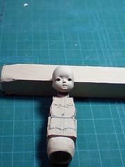 wood carving4 (kijineco) Tags: production process