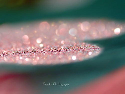 Glamour diamond bokeh