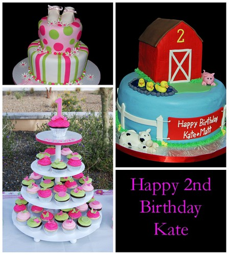 Kate's Birthday Cake Collage
