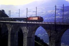 Leugelkinn Viaduct (mostlybytrain) Tags: train schweiz suisse swiss rail railway sbb locomotive bahn rhone