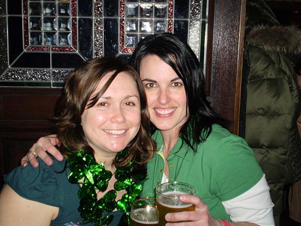Renee & Chris' St Paddies Day Visit