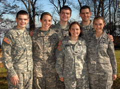 A family that serves (The U.S. Army) Tags: family sisters training army virginia brothers military siblings soldiers jag lawyer usarmy lorton airman