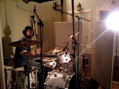 Sam Heard, drums 2 (ryland.haggis) Tags: studio drums bc bass drummer recording sessions abbotsford recordingstudio bassplayer electricbass rylandhaggis colinbullock samheard