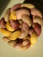 Southern Cross Fiber cashmere/merino in Hay Sunrise. Awesomeness!