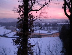 Torrente Scrivia (ab360gradi) Tags: winter sunset snow water barn rural river countryside al eau tramonto farm hiver fiume piemonte neve neige paysage acqua inverno vallescrivia photographing fleuve coucherdusoleil fotografando quercia scrivia countrylandscapes purelynature novese campagnanovese doublyniceshot torrentescrivia cassanospinola mygearandme mygearandmepremium mygearandmebronze ab360gradi annibalebarone