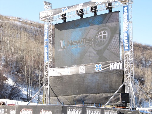 TriCaster powers video boards at Winter X Games 14
