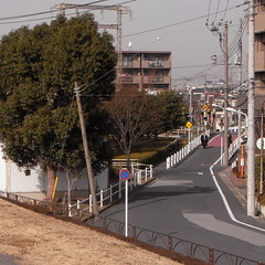 railroad crossing at Nishii-bori 02