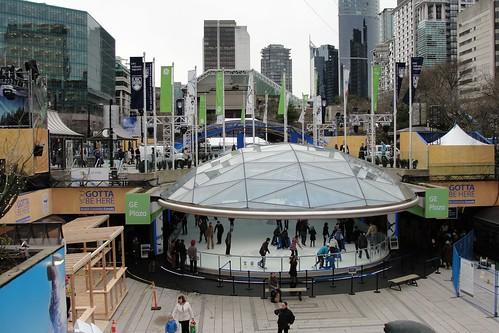 GE Robson Square Plaza
