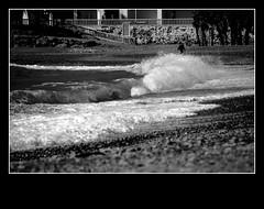 A Calm Walk on the Wild Side II (Southwark) Tags: bw canon mar spain playa andalucia bn arena paseo granada tamron ola salva almuecar eos50d salvagranada 18270mmvc
