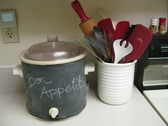 Chalkboard Crock Pot