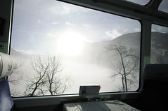 Glacier Express 23 (AAron Metcalfe) Tags: fog train switzerland wideangle glacierexpress swissalps sigma1020mmf456