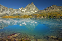 Goillet (Fabio Montalto) Tags: italy mountain lake alps reflections landscape photography polarizer piedmont valledaosta cervino naturesfinest nikond200 colorefexpro breuilcervinia nikfilters superaplus aplusphoto goillet platinumheartaward absolutelystunningscapes capturenx2 wagman30 flickrclassique mygearandmepremium