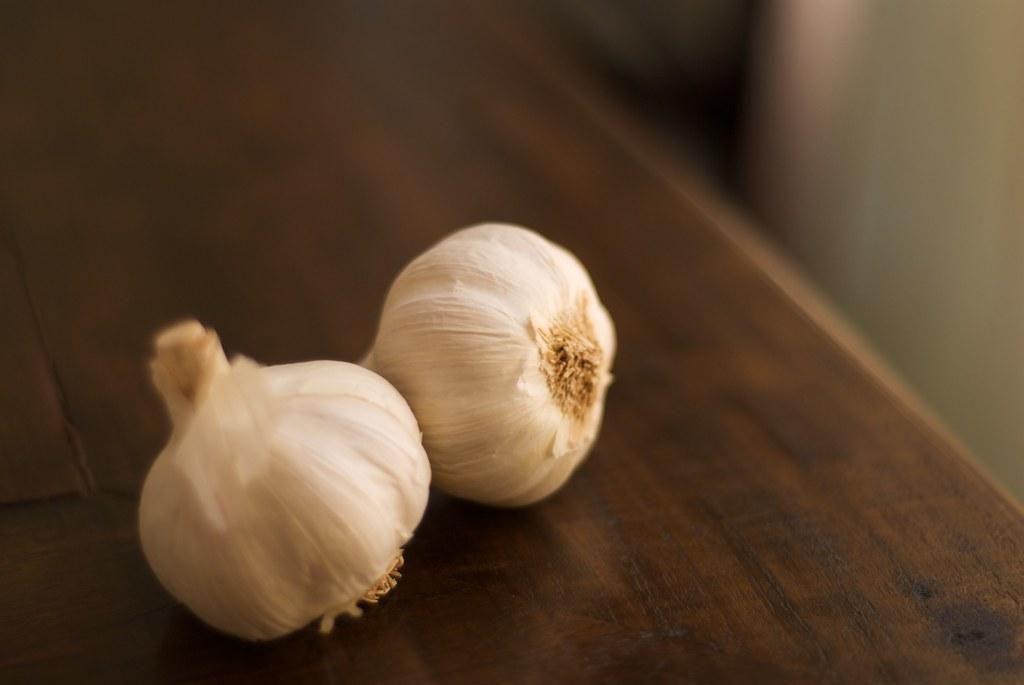 garlics, ajos!