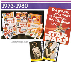 Vintage 1970's Hostess Star Wars Wonder Bread (gregg_koenig) Tags: old food dog cakes cup st fruit breakfast cat vintage pie star louis cookie display box cereal crisp chow packaging hostess interstate wars chex jarvis 1970s 1980s ding tender wrapper ralston dong brands twinkies ibc vittles dongs purina checkerdome