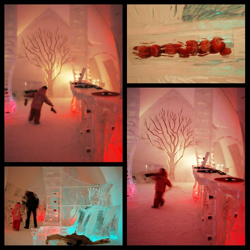 Chaperon rouge version hôtel de glace
