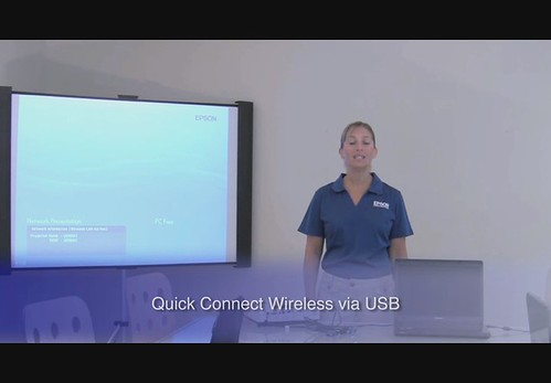 Quick Connect Wireless with Epson Projectors