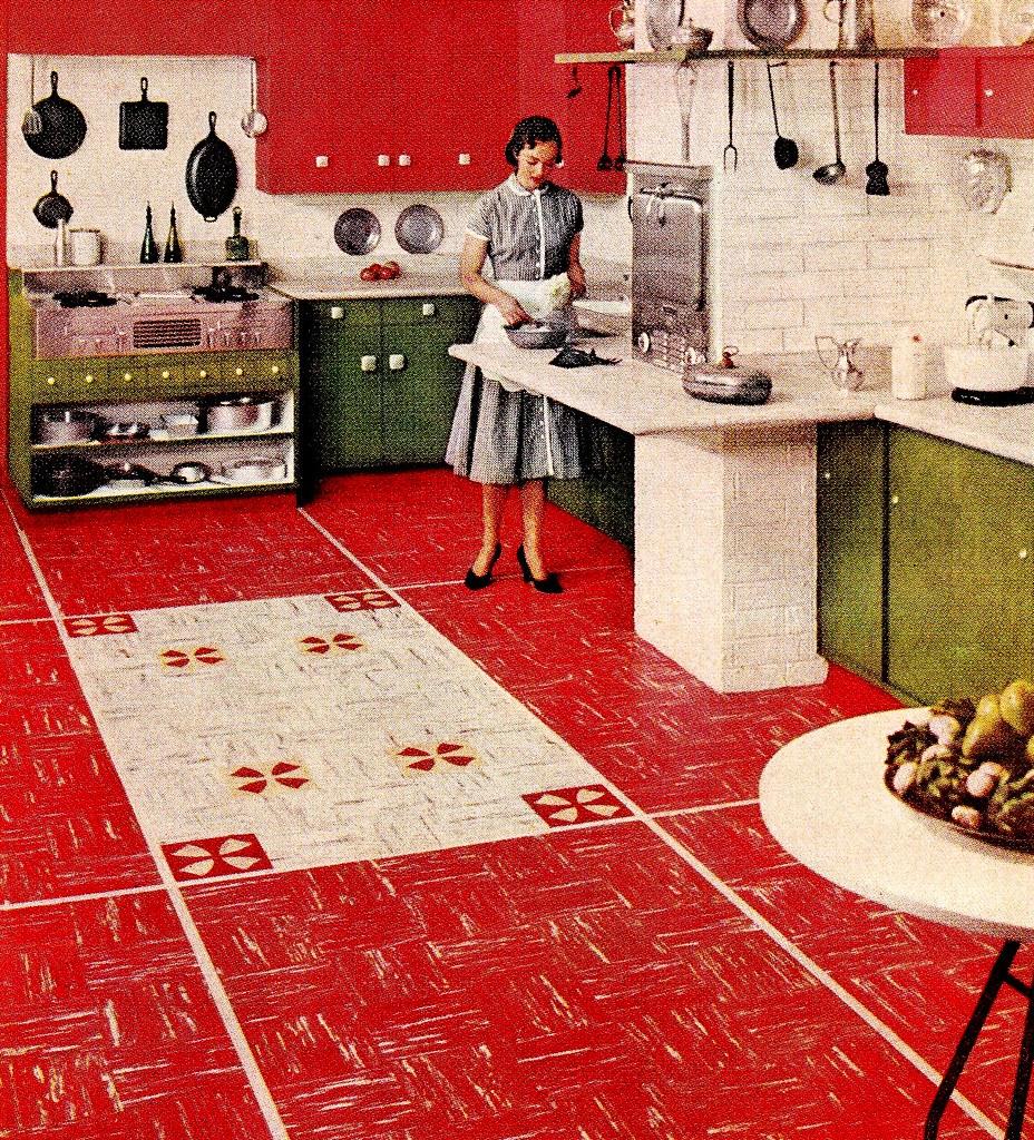 Retro Linoleum Kitchen Flooring: The World's Best Photos By Saltycotton