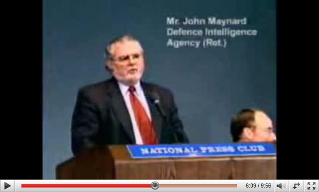 John Maynard Defence Intelligence Agency Retired