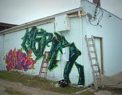 (Twenty_Ten) Tags: street galveston art wall graffiti texas houston writers production graff aerosol rsa merk siego