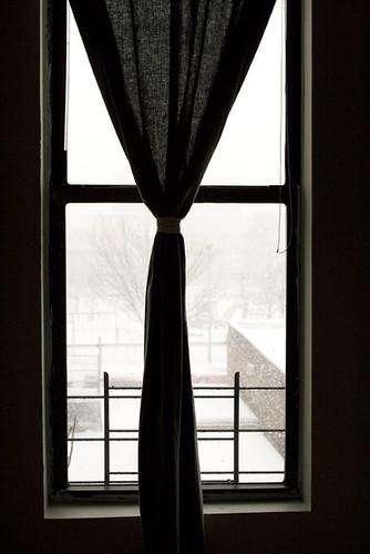 snow day window